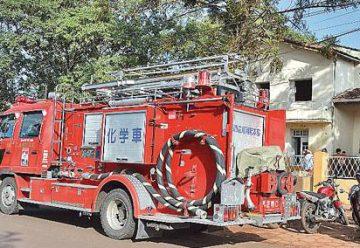 Los bomberos voluntarios de PJC con nuevo camion