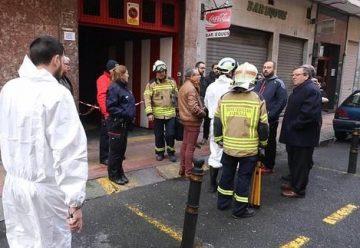 Un bombero y dos menores atendidos en un incendio