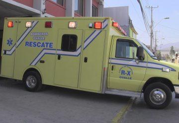 Compañía de Bomberos de Ovalle recibe moderna unidad de rescate
