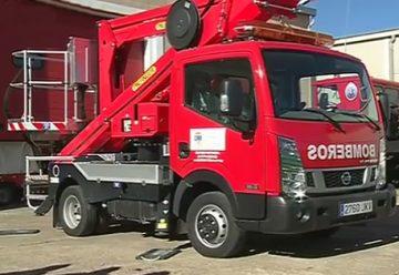 La Diputación dota al Parque de Bomberos de Lumbrales de un nuevo camión