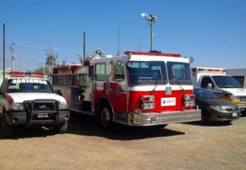 Dotan de vehículos y equipo a Protección Civil y Bomberos de Tarímbaro