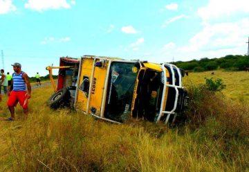 Bomberos de Ceibas sufrieron un grave accidente