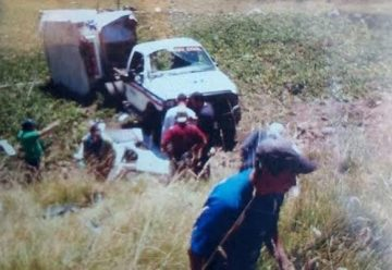 Fallece bombero en vuelco de ambulancia en Venezuela