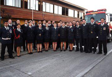 La Octava Compañía de Bomberos de Temuco celebró sus 34 años
