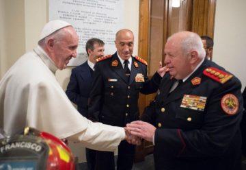 El Papa Francisco recibio a representantes de la OBA