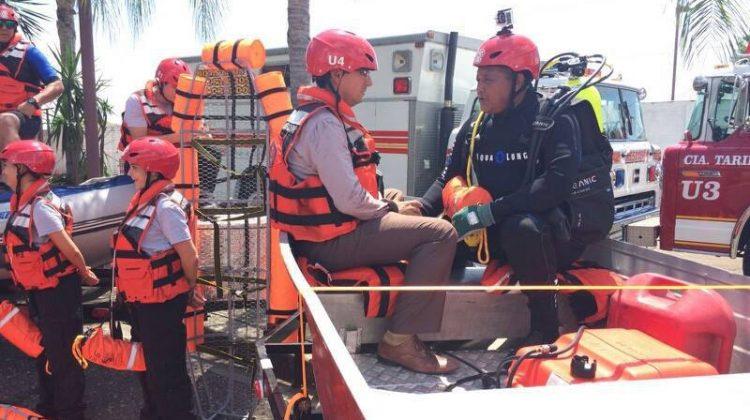 Bomberos fortalecen unidad de rescate acuático