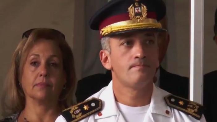 Leandro Palomeque asumió como director de Bomberos