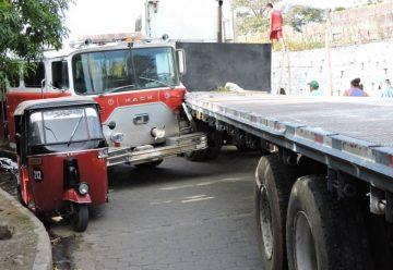 Camión de bomberos no llegó a cubrir emergencia