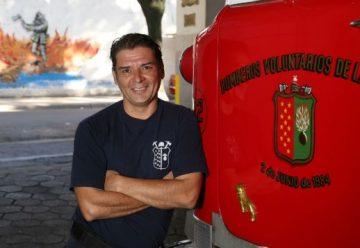 """""""Pepe"""" Monje, el bombero actor"""