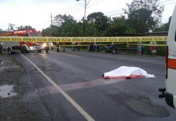 Unidad de Bomberos atropella y mata hombre en Sarapiquí