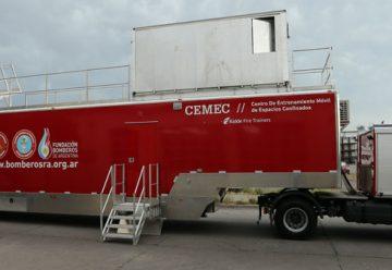 Los Bomberos inaugurarán nuevo Centro de Entrenamiento Móvil