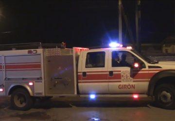 Bomberos Voluntarios de Giron recibió nueva unidad de ataque rapida