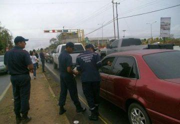 Bomberos tomaron las calles para pedir ayuda