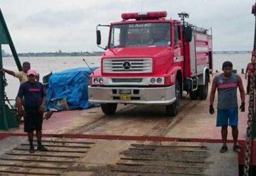 Bomberos fueron víctimas de piratas en el golfo de Guayaquil