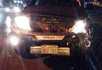 Un menor fue protagonista de un choque contra un carro de bomberos