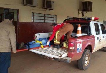 Preocupación por el traslado de accidentados en camioneta de bomberos