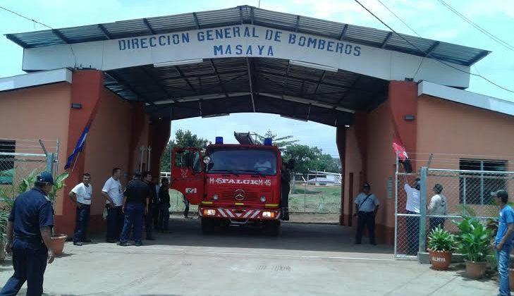 Inauguran nueva estación de bomberos en Masaya