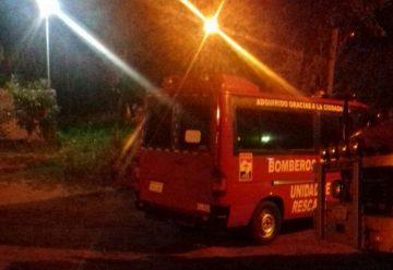 Intentan quemar ambulancia de los bomberos de Itá