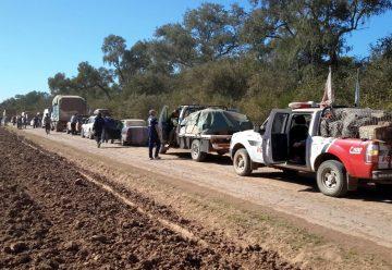 Bomberos participa de Caravana Solidaria