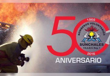 Bomberos Voluntarios celebran sus primeros 50 años