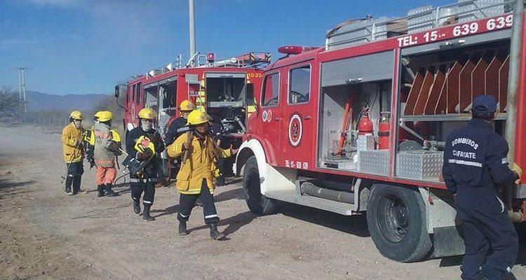 Bomberos denuncian demoras en las notificaciones de emergencia