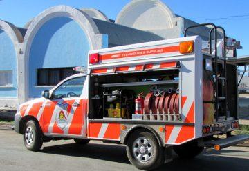 Festejo de bomberos voluntarios sorprendió a los vecinos