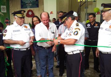Inauguran nueva sede de Bomberos Municipales