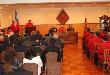 Primera Compañía de Bomberos de Temuco celebró sus 116 años
