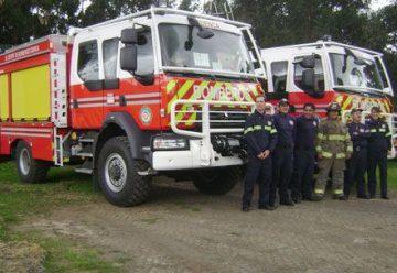 Bomberos tienen nuevos vehículos contraincendios