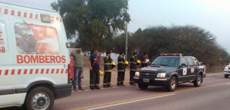 Quimilí despidió al jefe del cuartel los bomberos