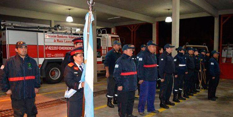 Bomberos Voluntarios celebró su aniversario número 37