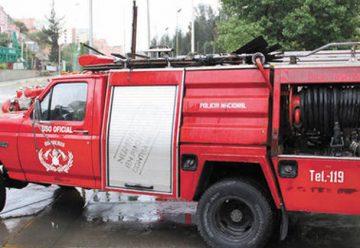 Un siniestro reveló las carencias que enfrentan los bomberos