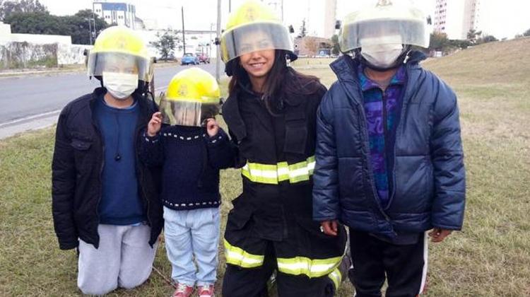 Una bombera salteña busca ser la nueva Miss Universo