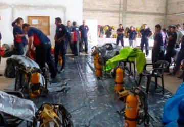 Capacitación en materiales peligrosos en Chaco