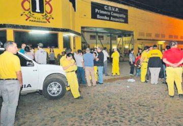 Bomberos denuncian que son perseguidos por el directorio
