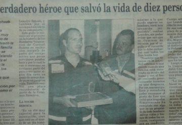 Historias de héroes, la historia de un bombero