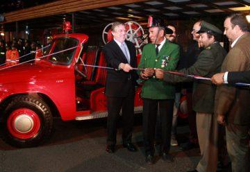 Reparan primer carro de bomberos de la comuna de Pica