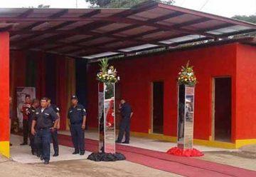 Nueva estación de bomberos en Nagarote