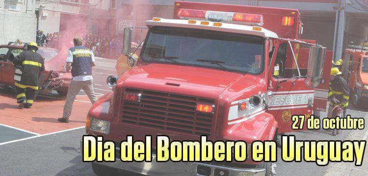 Dia del Bombero en Uruguay