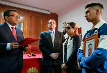 Indemnizan a deudos de los tres bomberos fallecidos en El Agustino