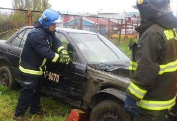 Bomberos de Aysén refuerzan su preparación en rescate vehicular