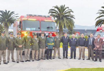 Bomberos recibió oficialmente carros para la Región de Magallanes