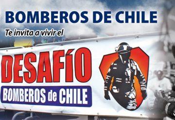 Voluntarios listos para el Desafío Bomberos de Chile 2016