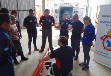 Bomberos del Chaco se capacitan en Primeros Auxilios