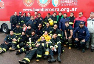 Bomberos Voluntarios se capacitan en búsqueda y rescate
