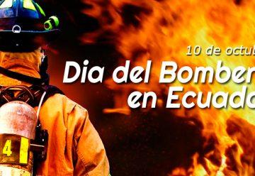 Día del Bombero en Ecuador