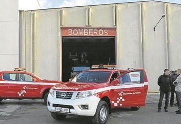 Dos nuevos todoterreno completan la nueva flota de los bomberos