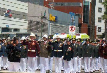 Conmemoran al Primer Mártir de Valparaíso y de Bomberos de Chile