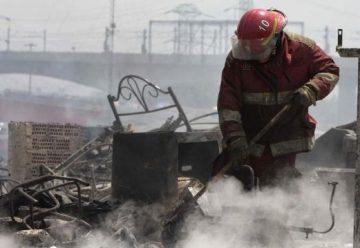 Incendio destruye la única comunidad indígena de Lima