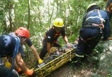 Bomberos misioneros se capacitaron en rescate